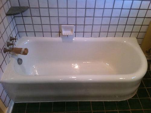 Edmond Bathtub Refinishing - Edmond, OK - Refinished Historical Tub