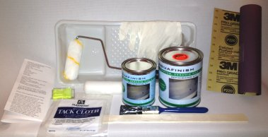 Aquafinish Bathtub Refinishing Kit