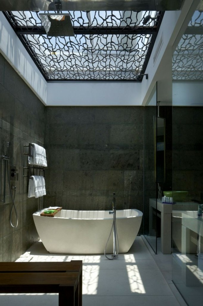 Bathtub in Bali Hotel