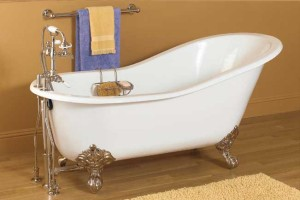been wanting a clawfoot tub it is possible to purchase a new acrylic
