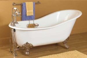 New Acrylic Clawfoot Tub