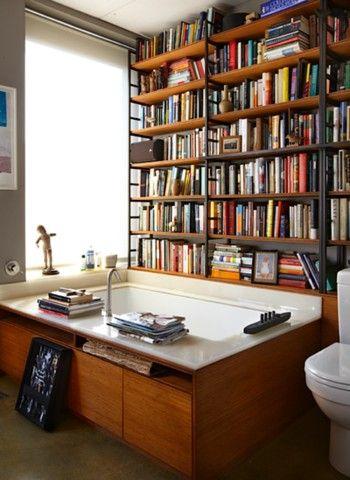 library bathtub
